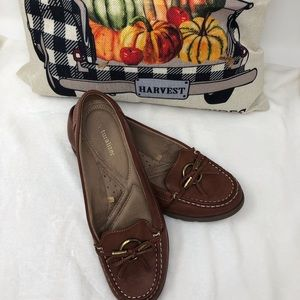 Naturalizer Brown Leather Loafers Size 9
